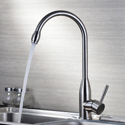 Desk mounted Sink faucet