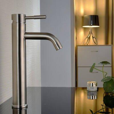 Bathroom tall basin faucet