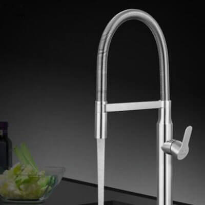 Sink kitchen mixer
