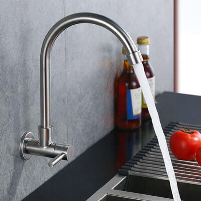 Cold kitchen sink faucet