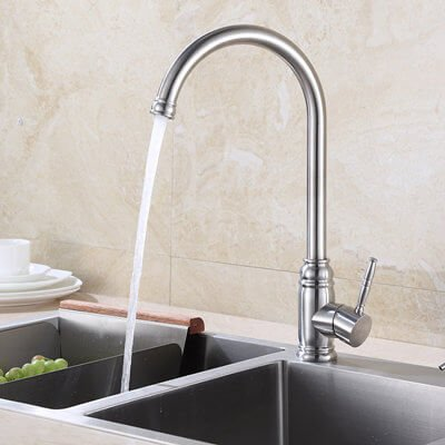 Custom-made kitchen faucet
