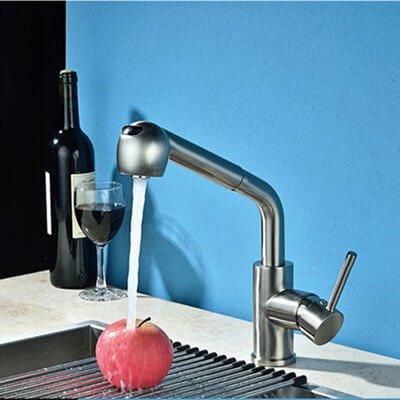 Kitchen mixer-sink faucet