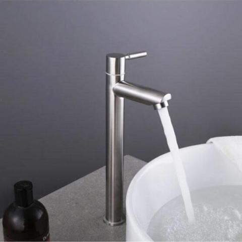 Bath basin tall faucet