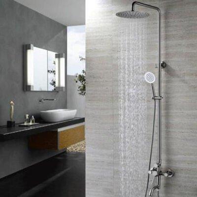 Bath shower faucet
