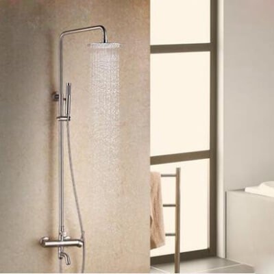 Bath shower faucet mixer